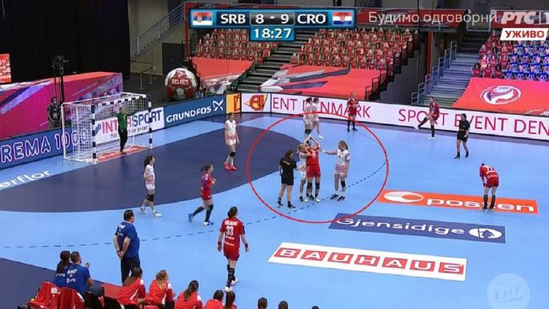 Hrvatica na utakmici protiv Srbije napravila potez o kome se priča…