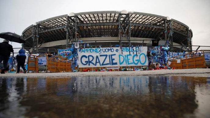 """Napuljski postao """"Stadion Diego Armando Maradona"""""""