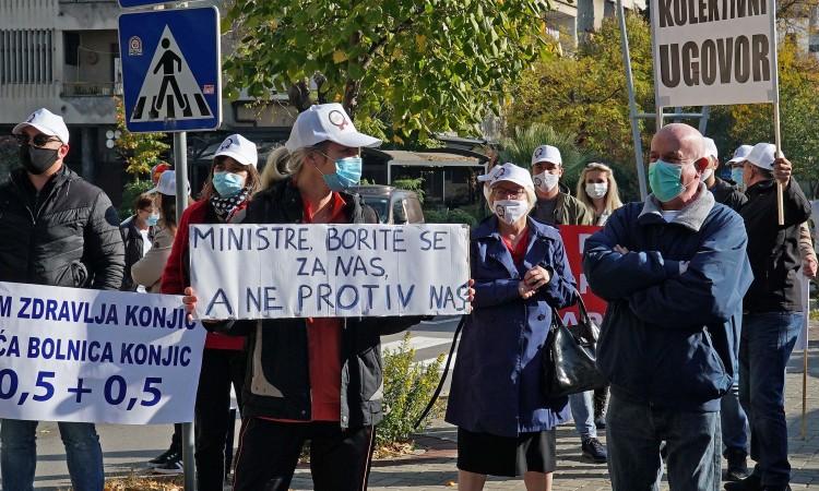 U siječnju moguć generalni štrajk zdravstvenih djelatnika u SBŽ-u