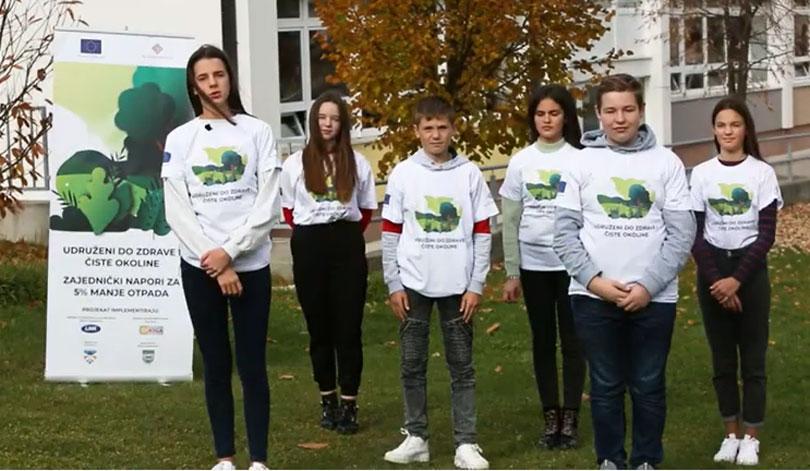 EU podržala mlade eko aktiviste iz Prozor Rame
