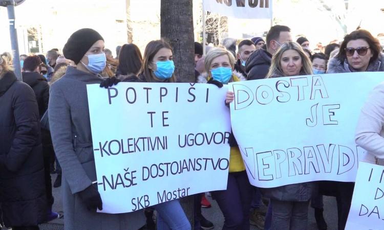 Štrajk zdravstvenih radnika nastavit će se do potpisivanja novog ugovora