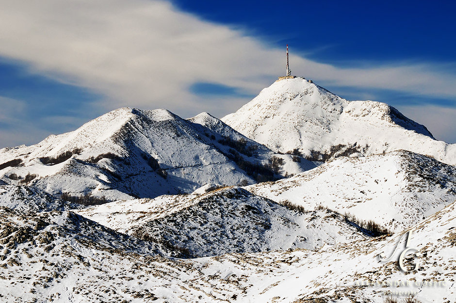 Biokovo, snijeg