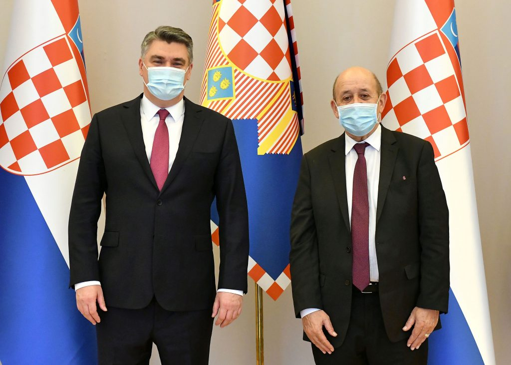 Milanović s francuskim ministrom o ravnopravnosti bh. Hrvata