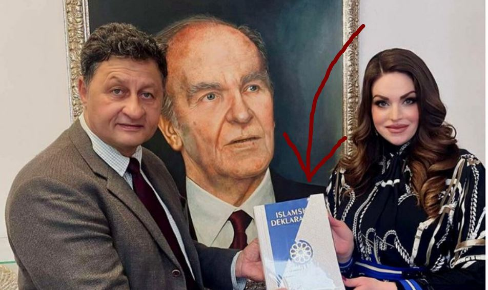 Poklonu se ne gleda u oči: Mirza Hajrić primio Islamsku deklaraciju
