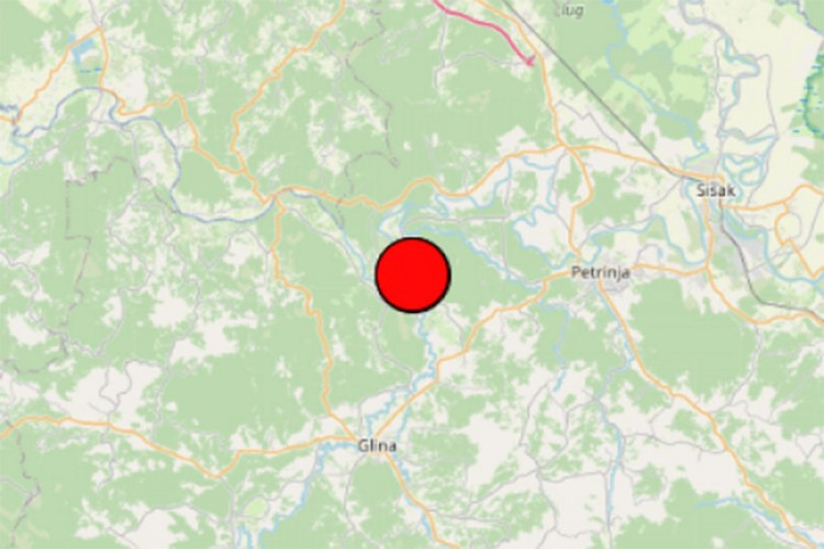 Novi potres kod Petrinje