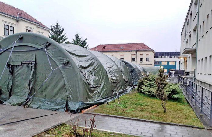 Šatori, Hrvatska vojska