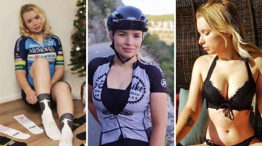 Zbog vrućih fotki biciklistica izgubila posao