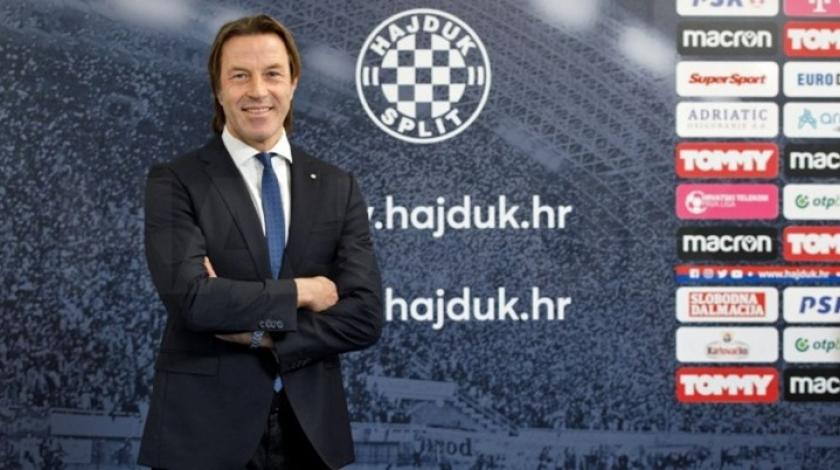 Neočekivano: Talijan preuzeo klupu Hajduka