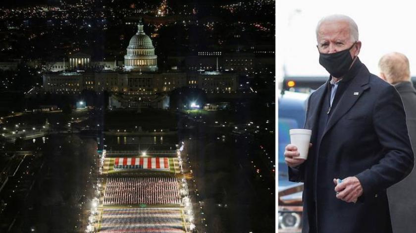 Inauguracija u SAD-u kao nikad dosad, sve je pusto