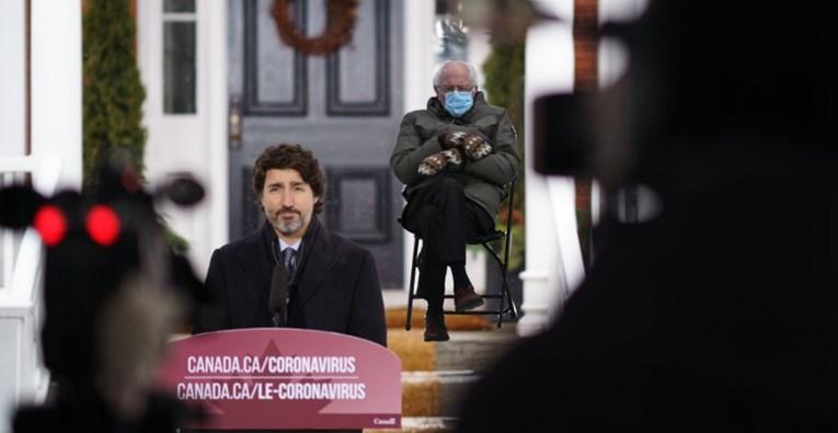 I kanadski premijer se zeza s fotkom Bernieja Sandersa