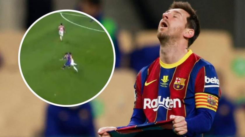 VIDEO Sramotan potez: Messi izgubio živce i udario protivnika
