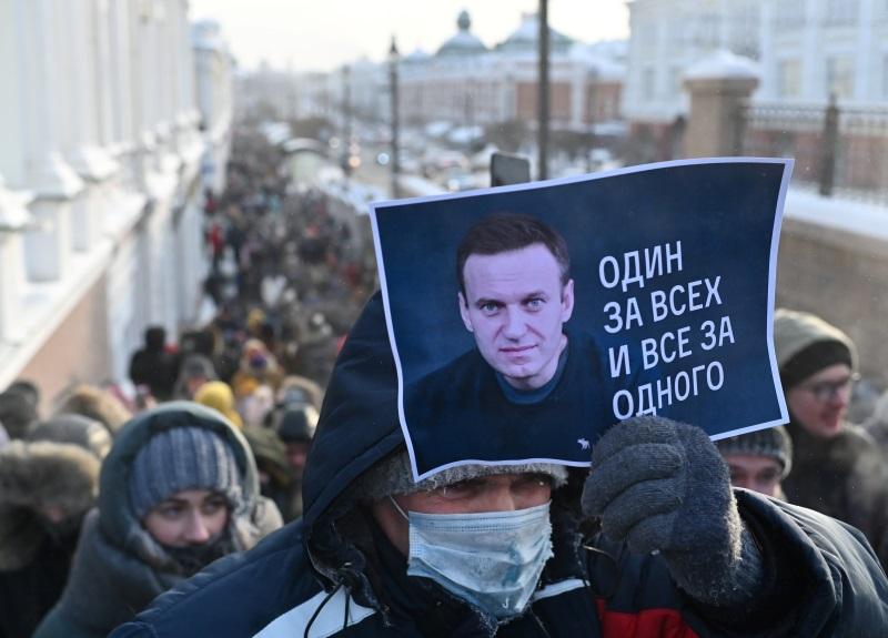 Prosvjedi u znak potpore Navaljnom