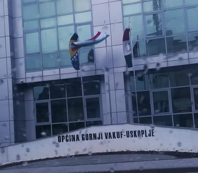 Papci iz Općine Uskoplje nisu spustili zastavu na pola koplja