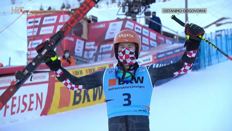 Fenomenalni Zubčić završio drugi u Adelbodenu!