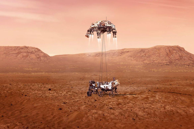 VIDEO Pogledajte NASA-inu snimku spuštanja na Mars