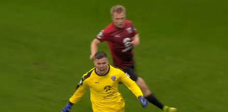 Njemačka: Hrvatski vratar zabio u 93. minuti, njegov klub preokrenuo!