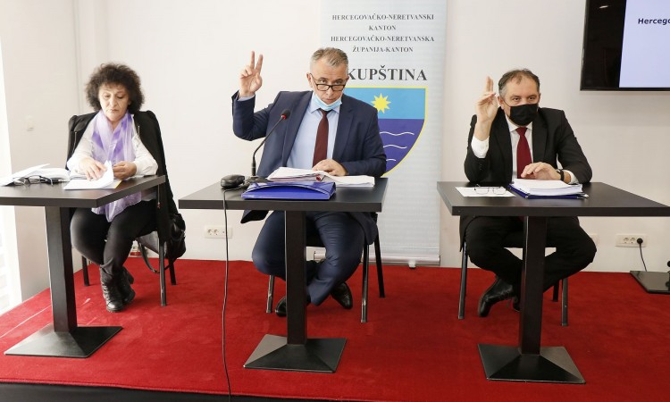 Pred zastupnicima Skupštine HNŽ-a Prostorni plan HNŽ-a