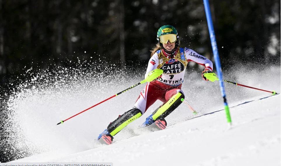 Austrijanka Liensberger najbrža nakon prvog slaloma