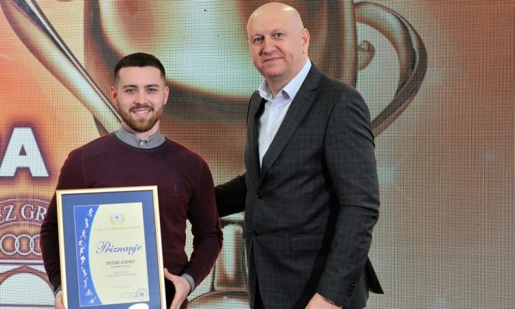 Petar Zadro i Iris Ćorić najbolji mostarski sportaši u 2020. godini