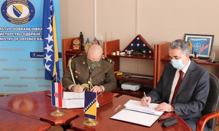 Potpisan Plan bilateralne vojne suradnje BiH i Hrvatske