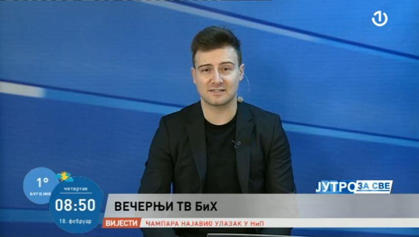 Andrijanić na BHRT-u o Večernji TV Bosne i Hercegovine