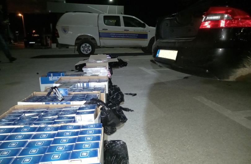 Iz Hercegovine pokušali prokrijumčariti cigarete u vrijednosti većoj od 17 tisuća KM