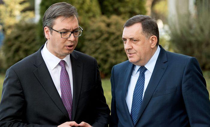 Danas se sastaju Vučić i Dodik