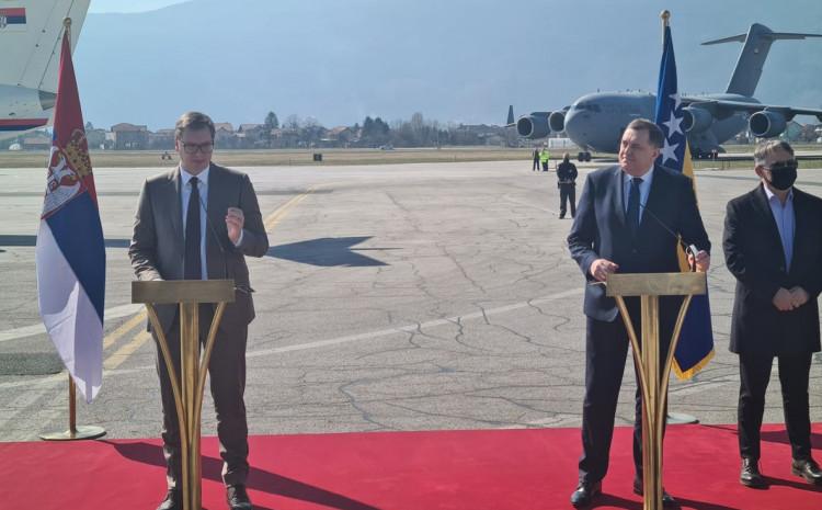Vučić i Dodik su pokazali svu nemoć i jad bošnjačke politike!