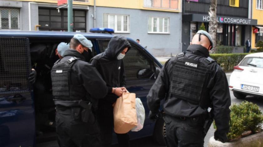 Za ubojicu iz centra Sarajeva zatražen pritvor