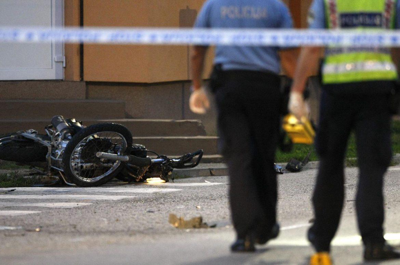 Teška prometna u Hrvatskoj, poginuo motociklist