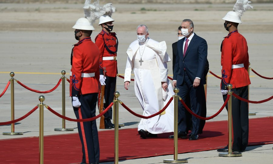 """Papa apelirao na Iračane: Poštujte vjerske manjine i smatrajte ih """"dragocjenim resursom"""""""