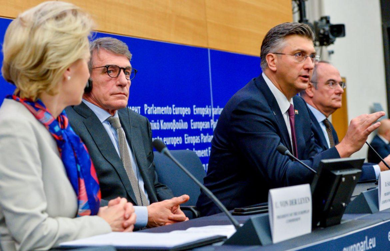 Plenković s važnim EU dužnosnicima o konstitutivnosti bh. Hrvata