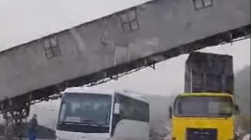 VIDEO Nevjerojatna nesreća u BiH: Podigao kipu i vozio kamion
