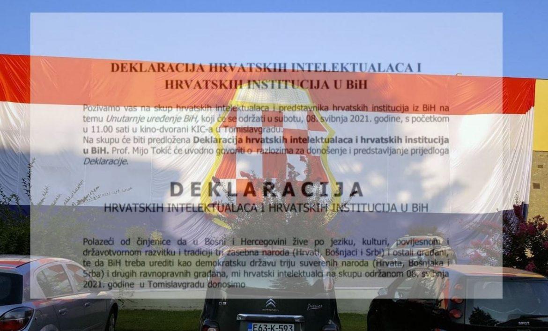 Deklaracija hrvatskih intelektualaca u BiH, Bild.ba vam donosi njen sadržaj!