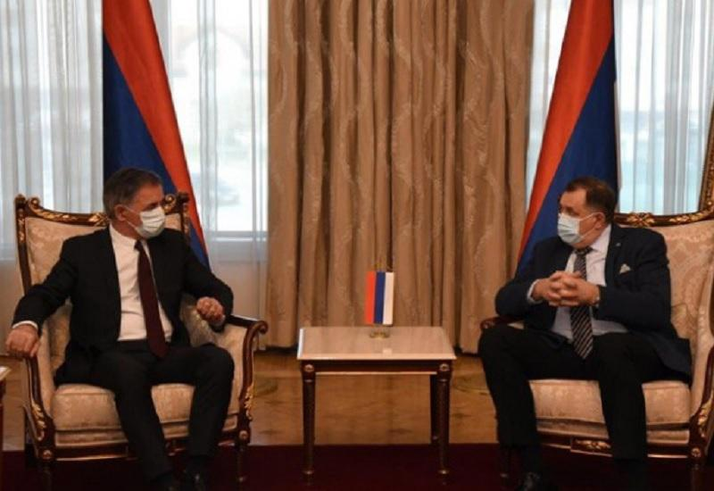 Dodik se sastao s Pupovcem