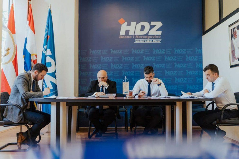 Odgovor mostarskog HDZ-a: 'Šire neistine na društvenim mrežama…'
