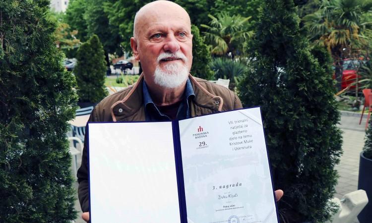 Mostarski skladatelj Živko Ključe nagrađen za djelo 'Pokoj vični'