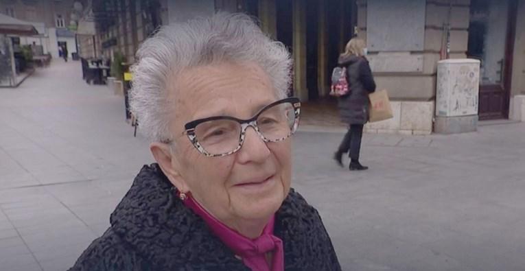 Koja kraljica! Bakica iz Zagreba legendarno odgovorila na anketno pitanje novinarke