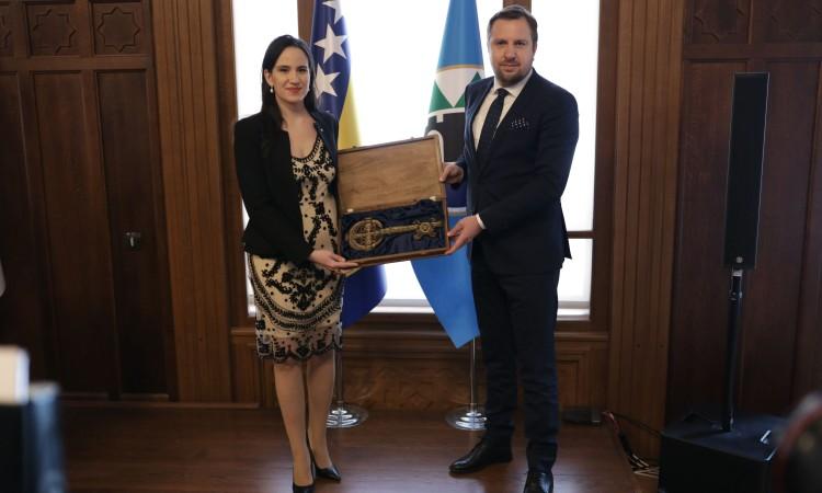 Benjanima Karić nova gradonačelnica Sarajeva