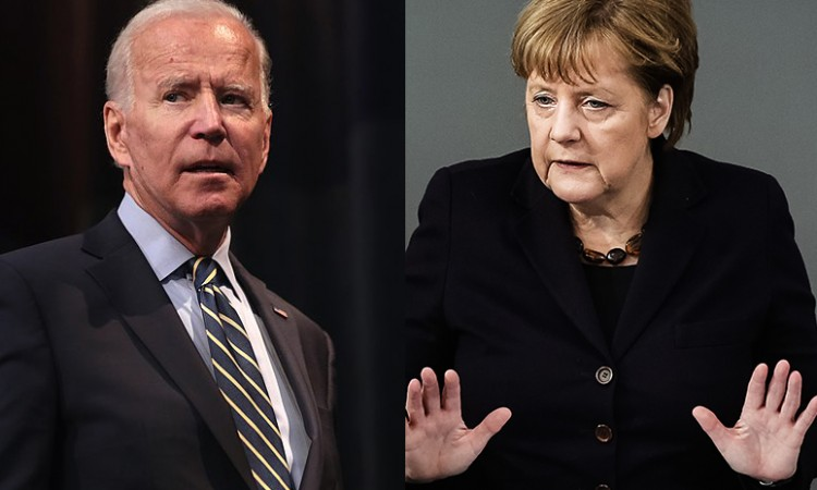 Merkel i Biden podržali pozive Rusiji da zaustavi pokrete vojnika na granici