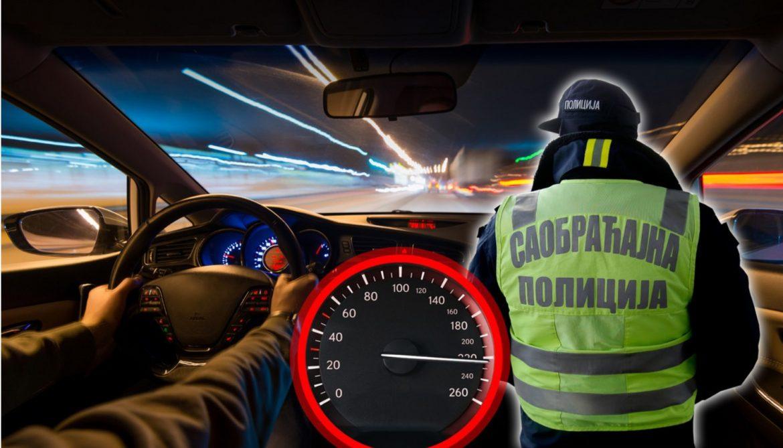 Ludi Srbin s probnom dozvolom vozio čak 217 kilometara na sat!