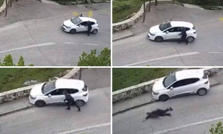 Snimka guranja automobila u Mostaru brzo je postala viralna, pogledajte zašto