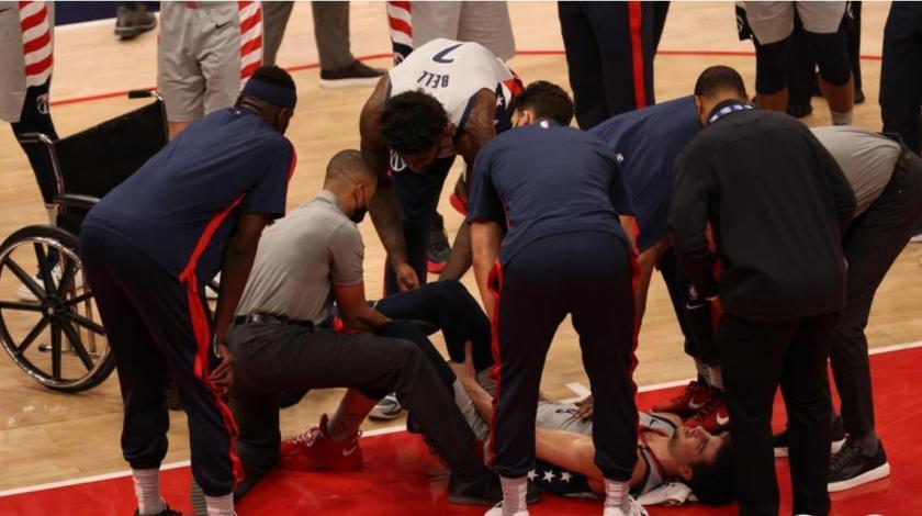 VIDEO Nesretni mladi košarkaš slomio nogu na utakmici