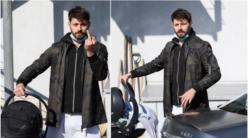 Petković fotoreporteru pokazao srednji prst