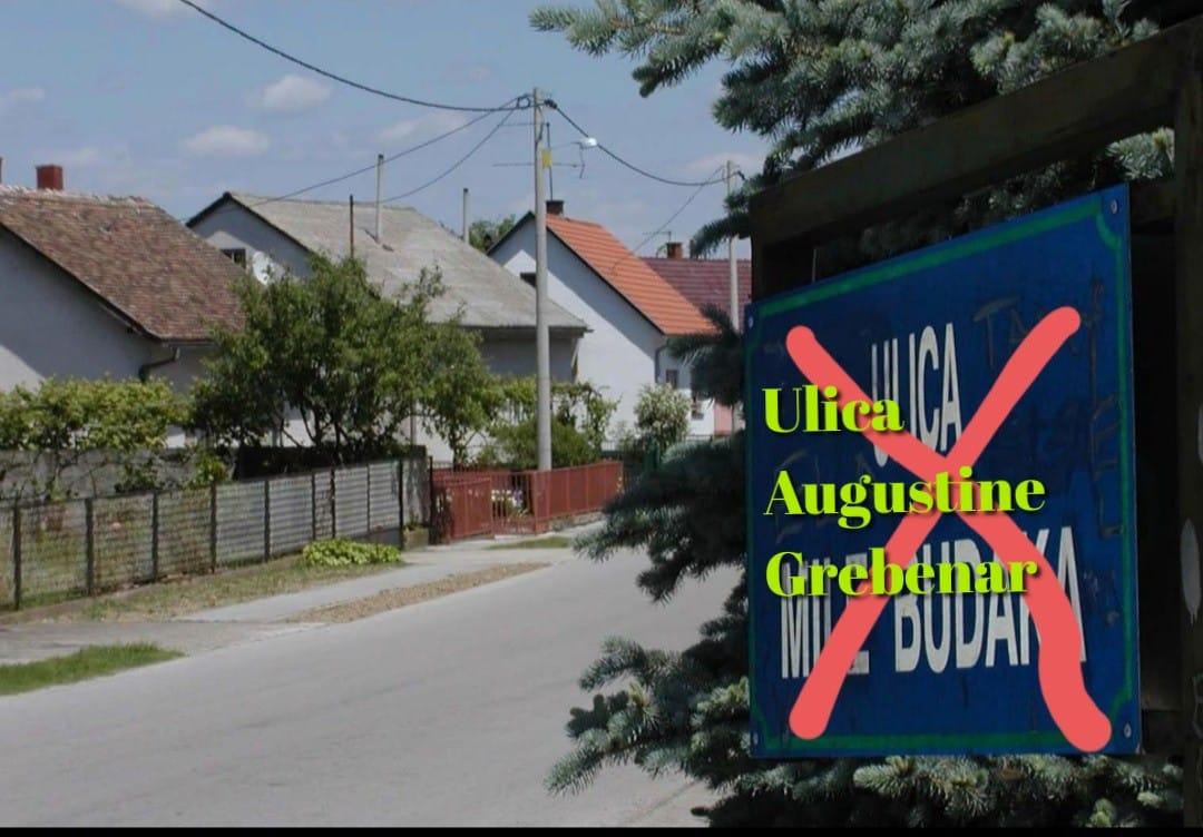 Zašto Hrvati u BiH imaju imena ulica po ustaškim dužnosnicima, a ne, recimo, po Augustini Grebenar?!