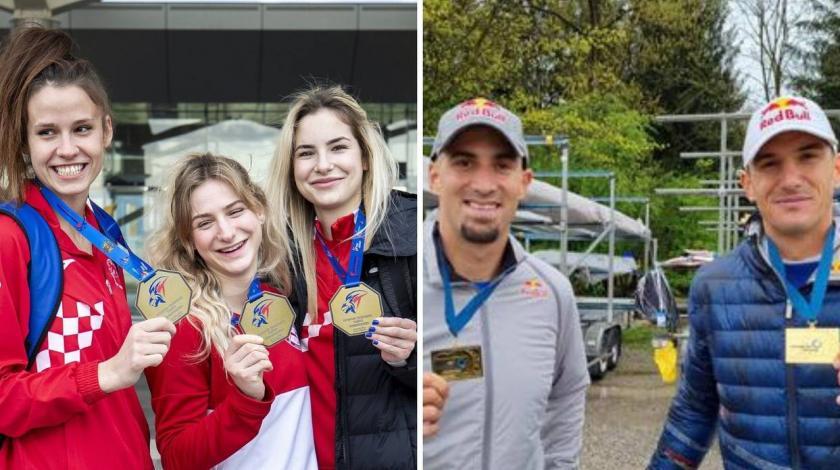 Hrvatska za vikend dobila četiri europska prvaka