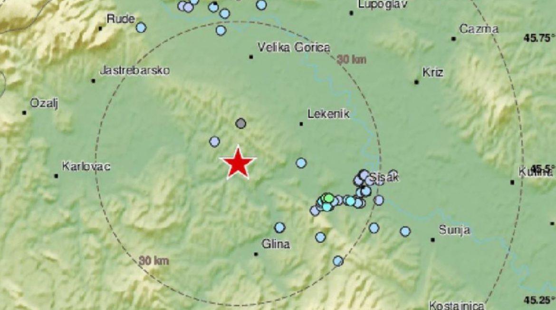 Dva potresa u središnjoj Hrvatskoj: 'Zidovi su krcnuli, kuća je zaškripala'