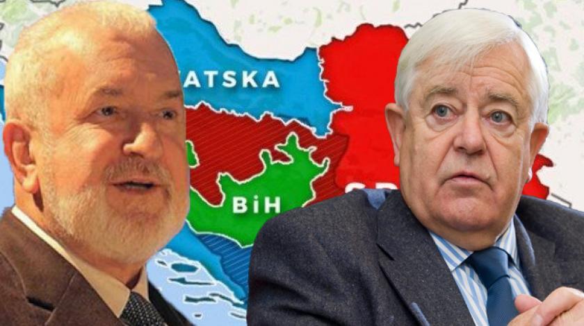 """Kučan odgovorio Ceriću na pitanje  tko dijeli """"Bosnu"""""""