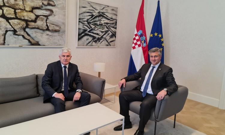 """Čović čestitao Plenkoviću: """"Motiv za HDZ BiH…"""""""