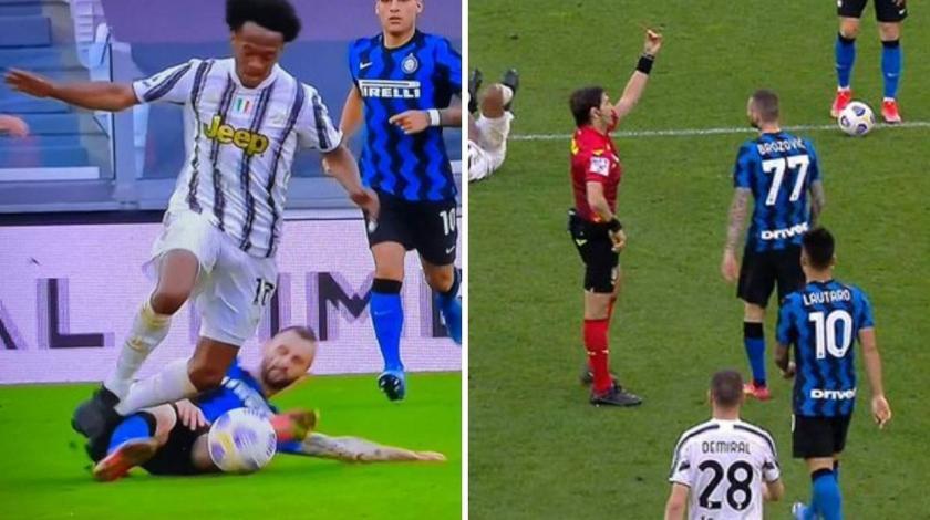 VIDEO Brozović izgubio živce u derbiju i krvnički startao na Cuadradu